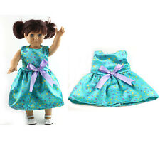 best  gift fashion dress outfit for 18inch American girl doll party N1