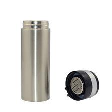 Termos metalowy srebrny 320 ml Sublimacja Termotransfer