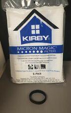 Genuine Kirby Micro Magic Filtration Vac Bags #204811 w/FREE Belt