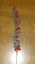 rote Rosenranke -Puppenstubenminiatur-1:12-toll