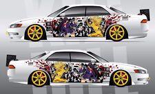 Car Side Full Color Graphics Vinyl Sticker Custom Body Decal Kill Bill
