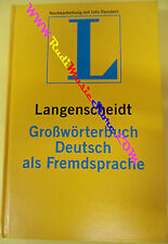 book libro GROSSWORTRTBUCH DEUTSCH ALS FREMDSPRACHE LANGENSCHEIDT tedesco (L10)