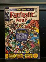 Fantastic Four Annual #3, FN/VF 7.0, Wedding of Mr. Fantastic & Invisible Girl