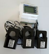 Smart energy meter KWH Volts Amps / LORA Netwotk ready. Electric Submeter 3+CTs