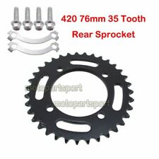 420 76mm 35T Rear Sprocket For Chinese 50 125 150cc Pit Dirt Bike CRF50 SSR SDG