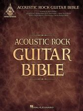 ACOUSTIC ROCK GUITAR BIBLE TAB Book *NEW* Guitar Recorded Version Songbook