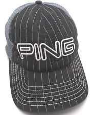 6359945e351 PING GOLF black and blue mesh adjustable cap   hat