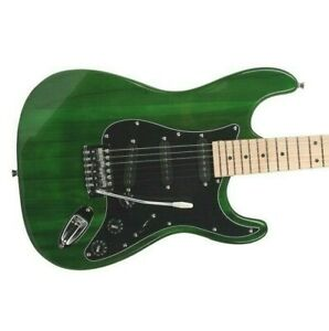 Glarry GST Electric Guitar GREEN & Gig Bag w/ Maple neck SSS pickups  5.5lbs
