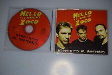 Nel.lo y la banda del zoco - Derechito al infierno CD-SINGLE PROMO