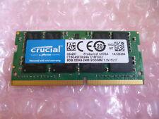 Crucial SO-DIMM 8GB DDR4-2400 - CL17 - TOP-AKTUELLER Notebook-Ram - CT8G4SFD824A