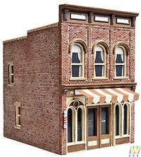 More details for walthers cornerstone vic's barber shop plastic building kit ho gauge wh933-3471