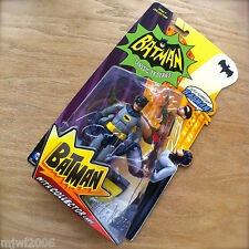 BATMAN Classic TV Series BATMAN Action Figure with Collector Card by Mattel 15cm