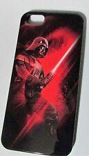 Disney Star Wars iPhone 5 Hard Shell Case Darth Vader Light Saber NIP
