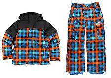 Burton Boys Ski Snowsuit Set Indie Down Jacket & Exile Cargo Pant Size 18, NWT