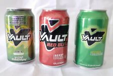 VAULT SODA UNOPENED FULL 12 OUNCE CANs-lOT OF 3 RARE.