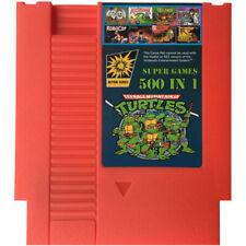 500 in 1 Classic Nintendo NES Contra Ninja Turtles Mario Adventure Island Zelda