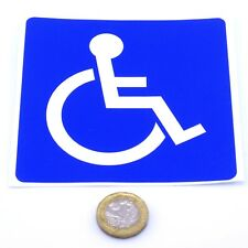 Disabled Car Sticker Blue Badge Mobility Window Bumper Vinyl 100mm