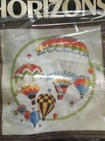 Monarch Horizons Up Up & Away Embroidery Kit  - Complete Kit