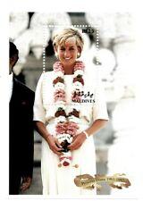 VINTAGE CLASSICS - Maldives 2300 - Princess Diana In Memoriam - S/S - MNH