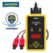 Auto Fuel Injector Tester 12V Car Injector Cleaner Pressure Tester 4 Pluse Modes