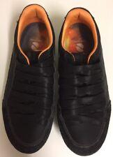 new styles cf7ce cf264 Black   Orange Trim Sneaker Shoes Energise Insole Size 7 GC Superior Comfort