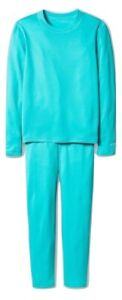 Champion Dou Dry Baselayer Girls Crew and Pant Set Moisture Wicking Quick Dry