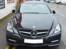 Mercedes W207 A207 C207 E Class Coupe Cabriolet Single Slat grille Black AMG