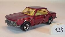 Majorette 1/60 No. 235 BMW 3.0 CSI dark red metallic #128