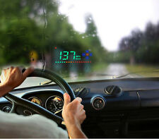 A2 3.5'' Car HUD HD Head Up Display Speed Alarm Compass Direction Show Durable