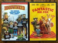 Hoodwinked Fantastic Mr. Fox Kids DVD