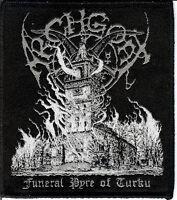 Archgoat Turku Patch Bathory Black Metal Moyen Blasphemy Sarcofago Sepultura