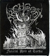 Archgoat Turku Patch Bathory Black Metal Moyen Blasphemy Sarcofago Sepultura