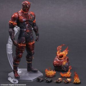 Metal Gear Solid V - Man on Fire Play Arts Action Figure-SQU81522