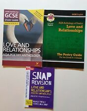 GCSE English Poetry - AQA - Love and Relationships - REVISION BUNDLE