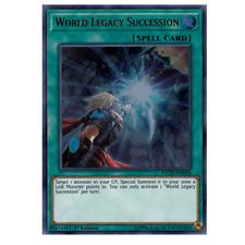 Yu-Gi-Oh Prismatic Secret Rare World Legacy Succession MP19-EN038 NM