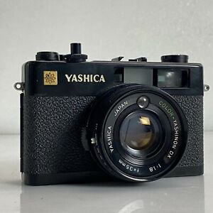 Yashica Electro 35 CC Black Rangefinder Film Camera from Japan - Exc- TK02F
