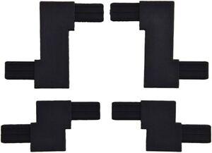 Red Sea 42085 Zig Zag 15/40 mm Black DIY for net cover universal hooks only