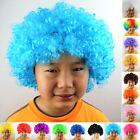 Kids New Funky Fun Afro Curly Hair Wig Women Festival Clown Fancy Party Costume