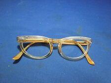 Vintage Shuron Women's Cat Eye Glasses Plastic Frames Only No Lenses 5 1/2 USA