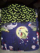nightmare before christmas jack sally bats large purse/tote/diaper bag handmade