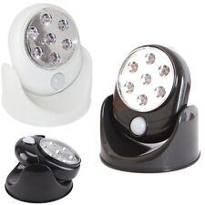 360° Battery Power Motion Sensor Security LED Light Home Garden Outdoor Indoor