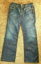 Men's BKE Buckle BRAYDEN 100% Cotton Embroidered Pocket New Jeans 35 x 31