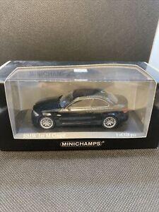 1/43 Minichamps BMW 1 Series M 1M Coupe / Black ***RARE*** 1 Of 528pcs