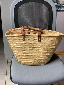 Einkaufskorb Strandtasche Basttasche Badetasche