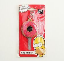 The Simpsons - Donut PVC Soft Touch Key Holder/Cover - Keyring/Keychain 27791