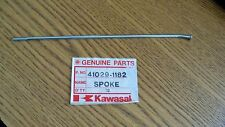 NOS OEM Kawasaki 175 RH Inner Rear Spoke KX80 KX100 1988-1997 41029-1182