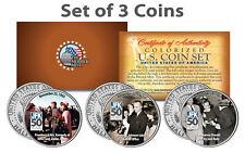 John F. Kennedy 50th ANNIVERSARY of the ASSASSINATION JFK Half Dollar 3-Coin Set