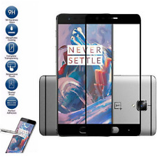 9H Black Full Covered Tempered Glass Screen Protector For Oneplus Three 3/3T New