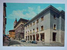 PISTOIA Via Roma Fiat 600 vecchia cartolina