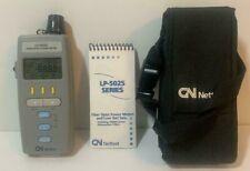 Lp 5025c Gn Nettest Fiber Optic Power Meter With Protective Case B3